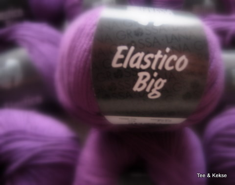 Die Wolle für mein neues Oberteil: Elastico Big von Lana Grossa