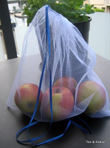Beutel für Obst und Gemüse nähen Beispiel 2