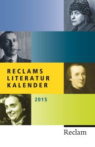 Reclams Literaturkalender