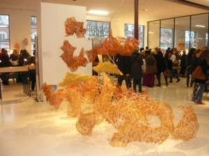 Ausstellung Textilkunst tim Textilmarkt