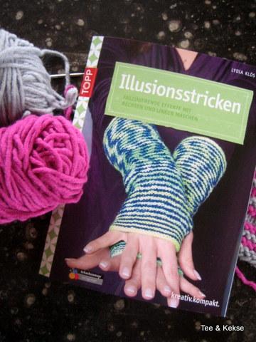 Illusionsstricken, Schattenstricken, Handarbeitsbuch, TOPP, frechverlag