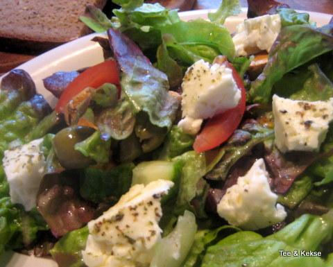 Salat Sommer Schafskäse